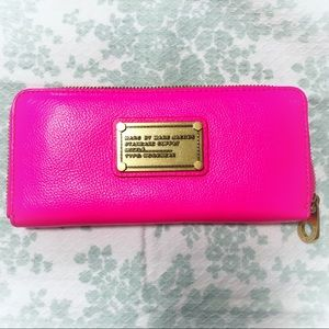 NEON Pink Marc by Marc Jacobs Wallet
